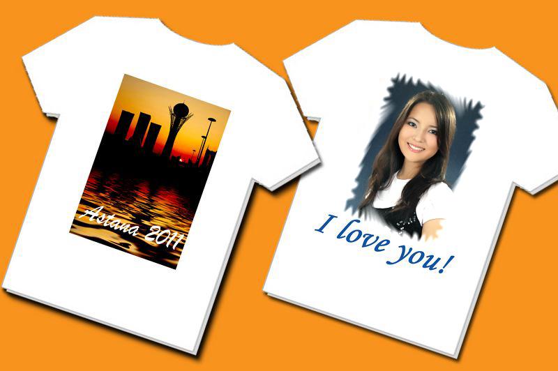 Нанесение на футболки символики, изображений и фото