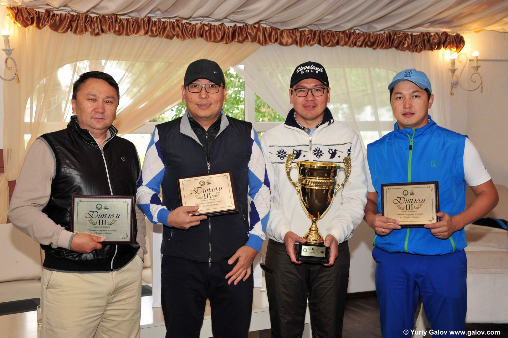 Open tournament golf on the cup of Astana 2015